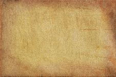 Free Background With Sacking Texture Stock Images - 13745574