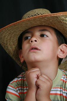 Kowboy Hat Stock Photography