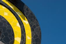 Free Tiles Black And Yellow Royalty Free Stock Photo - 13745965