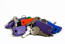 Free Keys Royalty Free Stock Photo - 13746035
