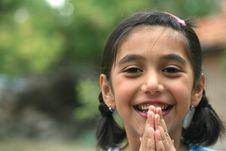 Free Little Girls Royalty Free Stock Photos - 13746058