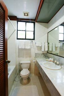 Toilet Bath Room Stock Photo