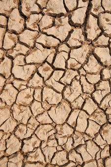 Free Broken Soil In Dry Season Royalty Free Stock Photography - 13746287