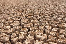 Free Broken Soil In Dry Season Royalty Free Stock Images - 13746309