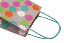 Free Paper Gift Bag Royalty Free Stock Images - 13746429