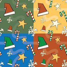 Free Christmas Seamless Pattern Royalty Free Stock Image - 13746556