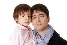 Free Father And Son Royalty Free Stock Photo - 13746745