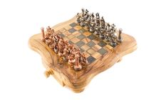 Black And White Chess On Chessboard Stock Photos