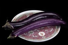 Free Chinese Eggplants Royalty Free Stock Image - 13748146