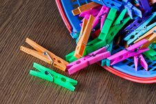 Free Clothespins Stock Images - 13748634