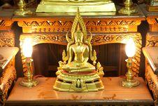 Free Golden Budha Thailand Stock Photography - 13748952