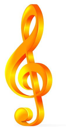 Free Treble Clef Stock Images - 13748984
