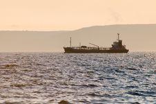 Free Port Of Vladivostok. Tank On Rails In The Amur Bay Stock Image - 13749161