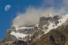 Free Snow Covered Mountain Peak Stock Image - 13749291