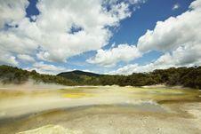 Hot Springs Natural Park New Zealand Stock Photo