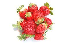 Free Strawberries Royalty Free Stock Photos - 13749518