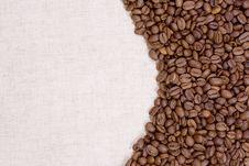 Free Half Coffee, Half Textile Stock Photo - 13750370