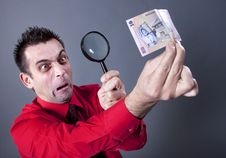 Free Funny Businessman Stock Photography - 13750542