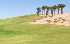 Egypt Golf Field Stock Photography