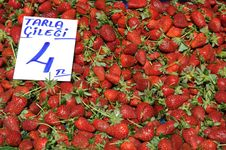 Free Strawberry Background Royalty Free Stock Photos - 13750678