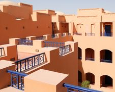 Arabian Architecture Style Royalty Free Stock Photography