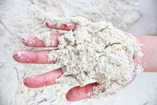 Free Beautiful Sand Royalty Free Stock Photo - 13750765
