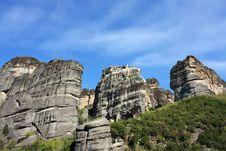 Free Monastery Of Barlaam. Royalty Free Stock Photos - 13750858