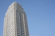 Big Building On Clear Sky Stock Photos