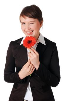 Free Charming Young Business Woman Stock Photo - 13751820