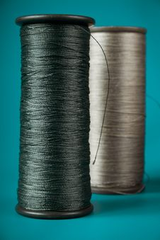 Spools Of Thread Royalty Free Stock Image