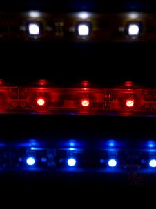 Free Diode Arrays Closeup Stock Photo - 13752200