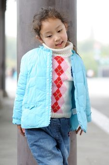 Free Cute Little Asian Girl Stock Images - 13752504