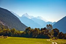 Free Beautiful Landscape In The Tirolean Alps Royalty Free Stock Photos - 13752608