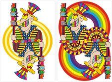 Free Playing Card Joker Royalty Free Stock Photo - 13752715