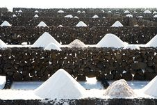 Free Salt Will Be Produced In The Old Historic Saline I Royalty Free Stock Photos - 13752798