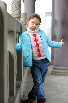 Free Cute Little Asian Girl Stock Photo - 13753460