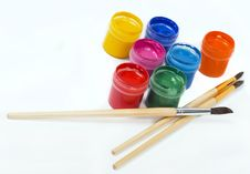 Free Brushes And Paints Royalty Free Stock Images - 13753789