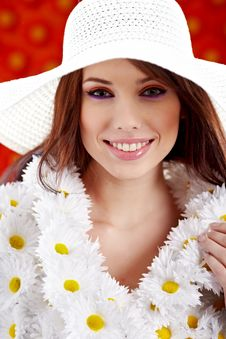 Free Spring Woman Royalty Free Stock Photography - 13753997