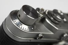 Part Of Old Retro Camera Royalty Free Stock Image