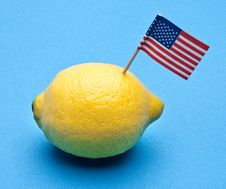 American Produce Royalty Free Stock Photography