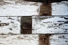 Floor Boards Of A Barn Stock Photography