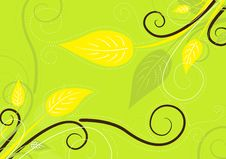 Free Green Spring Background Stock Image - 13754511