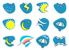 Free Weather Icon Royalty Free Stock Images - 13754529