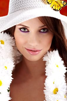 Free Spring Woman Stock Photos - 13754833