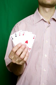Free Winning Hand Stock Photo - 13754890