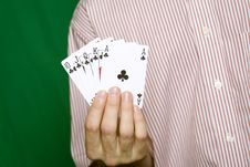Free Royal Flush Royalty Free Stock Images - 13754969