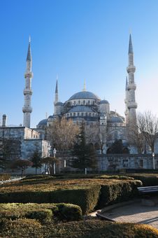 Blue Mosque. Istanbul. Turkey. Stock Photography