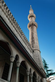 Blue Mosque. Istanbul. Turkey. Royalty Free Stock Photography
