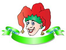 Free Joker Clown Illustration Stock Photography - 13756372