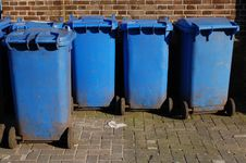 Free Garbage Containers Stock Photo - 13756390